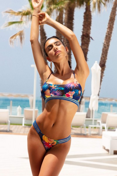 Costume bikini fantasia tropical SOPHIA