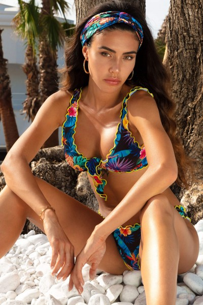 Costume bikini fantasia tropical MUSI